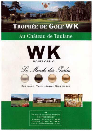 Trophée de Golf, 1ère édition